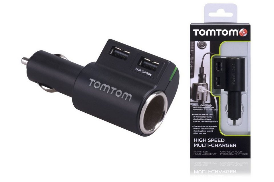 TomTom Lade »High Speed Multi-Charger« in Schwarz