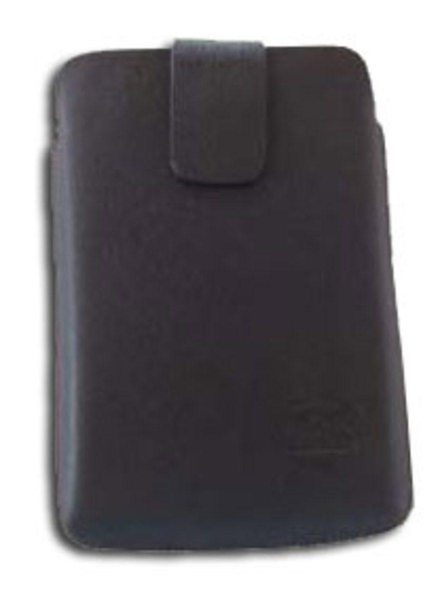 Falk Tasche »Leder-Etui, Zugband für 12,7 cm (5,0Zoll) Geräte«