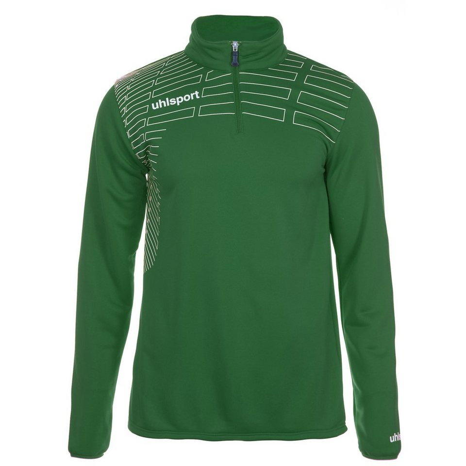 UHLSPORT Match 1/4 Zip Top Herren in lagune/weiß