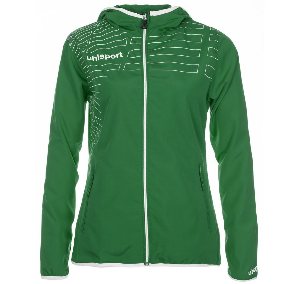 UHLSPORT Match Präsentationsjacke Damen in lagune/weiß