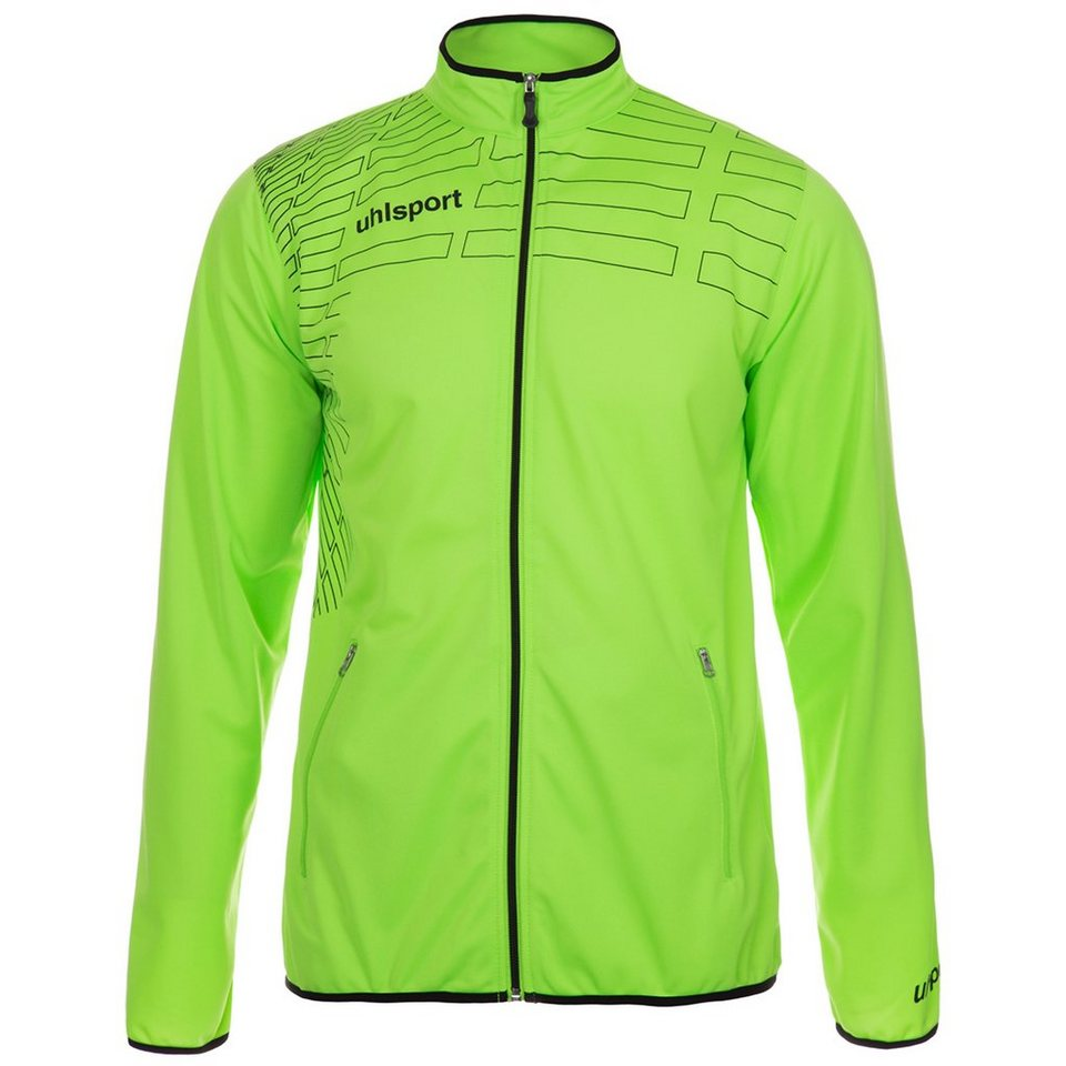 UHLSPORT Match Classic Jacke Herren in grün flash/schwarz