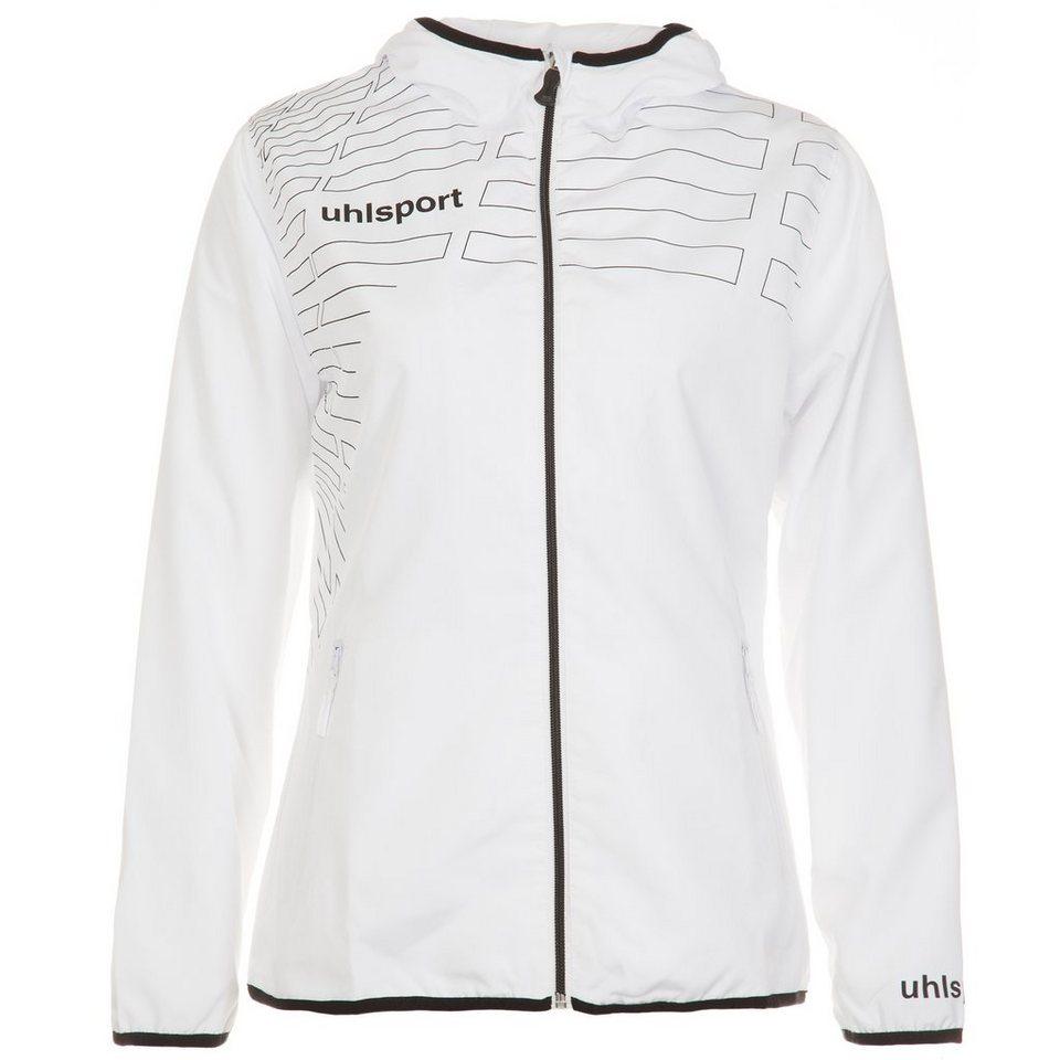 UHLSPORT Match Präsentationsjacke Damen in weiß/schwarz