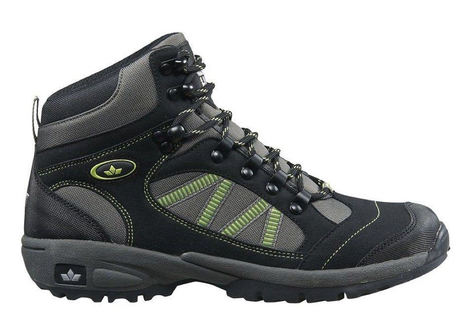 LICO Outdoorstiefel von LICO zum Schnüren, Unisex »RANCHER HIGH« in schwarz/grau/grün