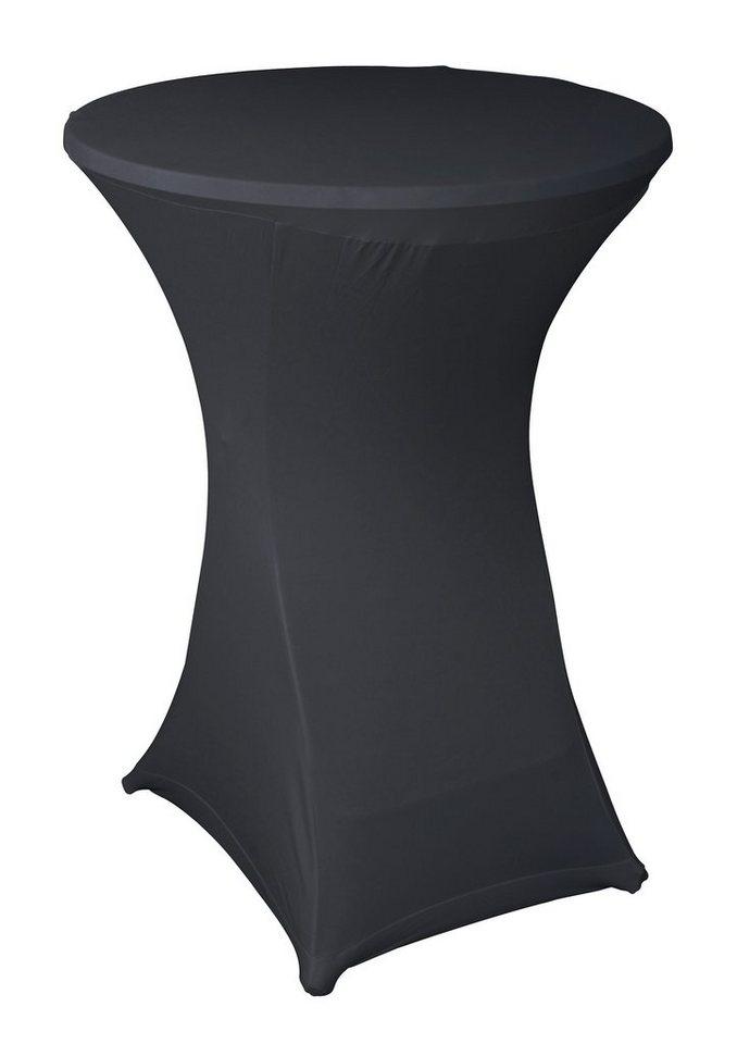 Stehtischhusse, greemotion in schwarz