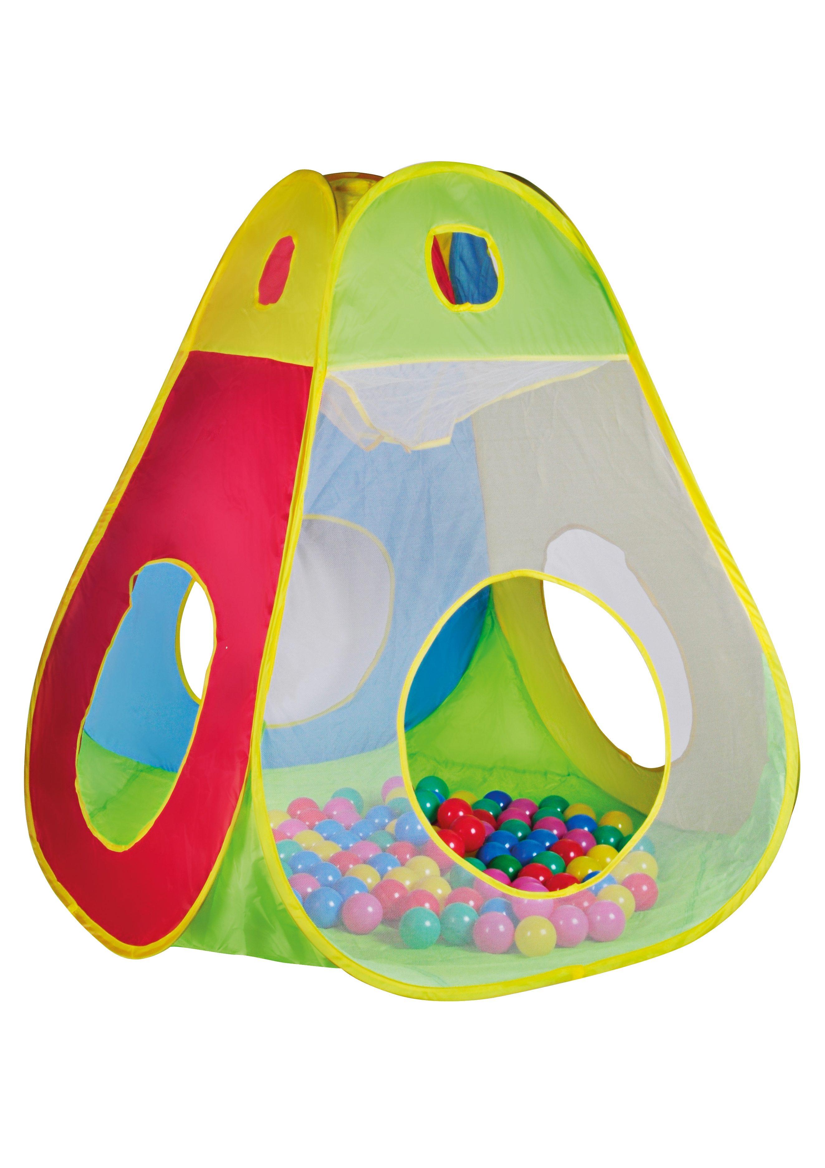 Kinderzelt und Bällebad mit 100 Bällen, »Brody«, knorr toys