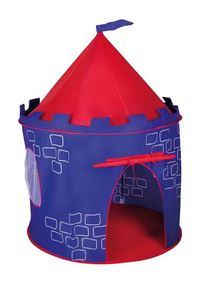 Kinderzelt, »Burg«, knorr toys in bunt