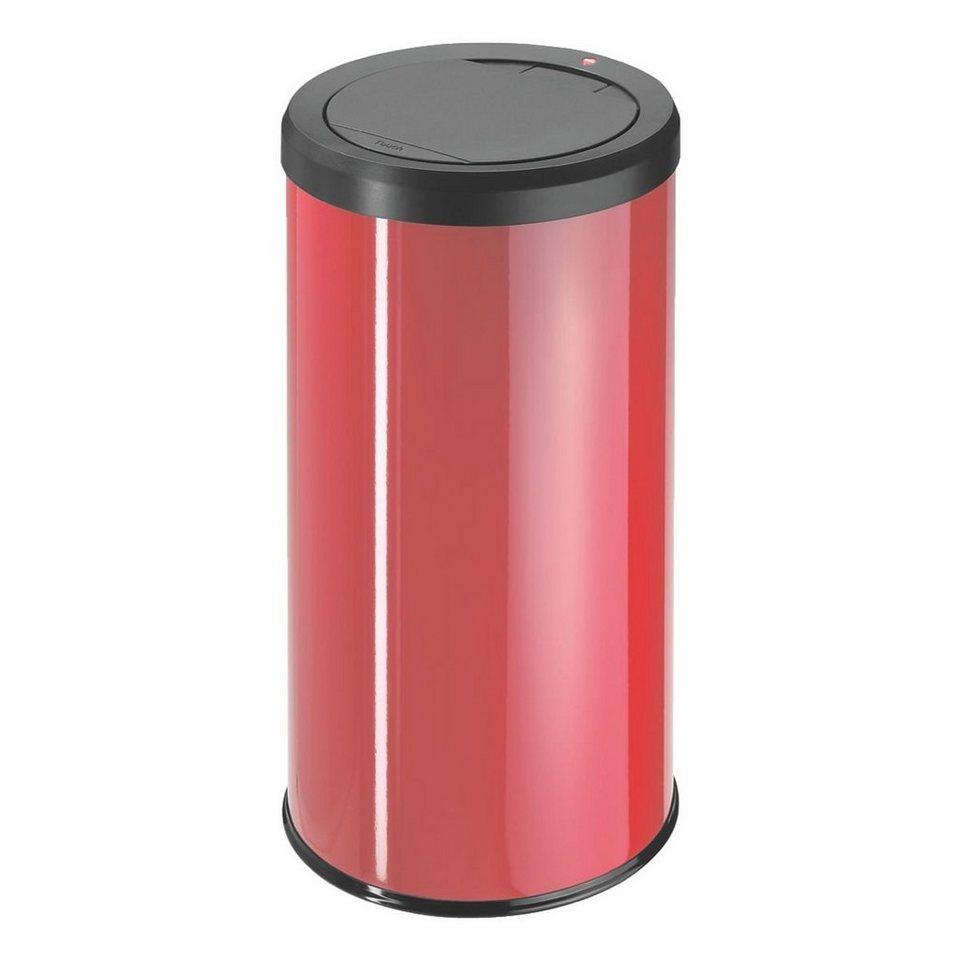 Hailo Mülleimer »BigBin Touch 45« in rot
