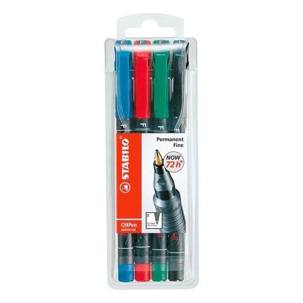 Stabilo 4er-Pack Folienschreiber »OHPen«