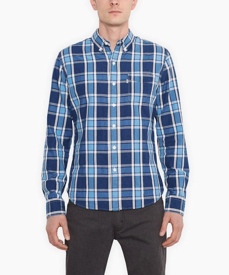 Levi's® Hemd »L/S Classic 1Pckt Shirt« in indigo
