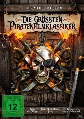 DVD »Die größten Piratenfilmklassiker«
