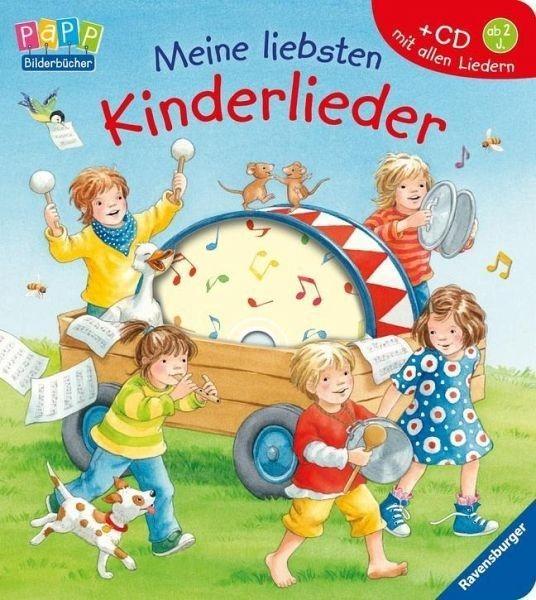 Buch mit Papp-Einband »Meine liebsten Kinderlieder. Mit CD«