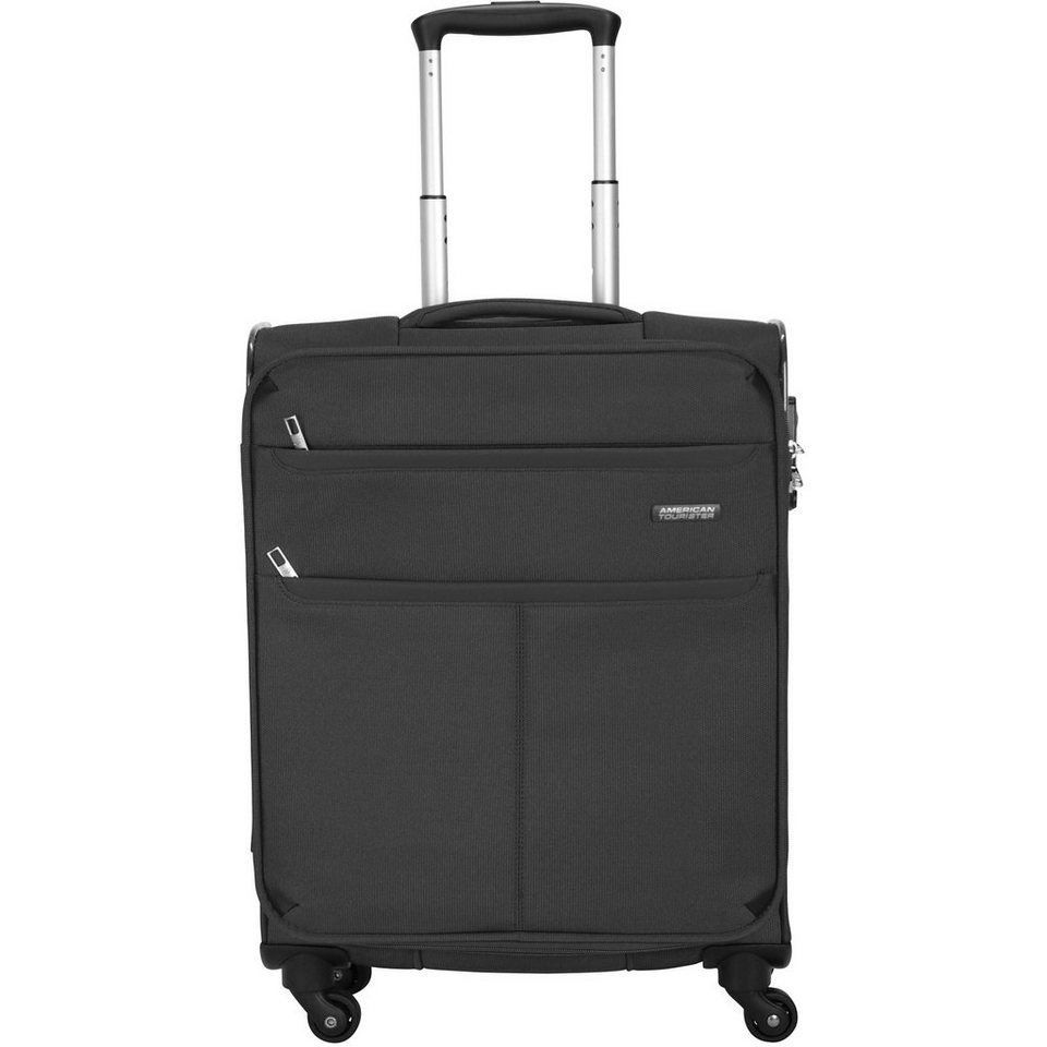 American Tourister Colora III Spinner 4-Rollen Kabinentrolley 55 cm in black