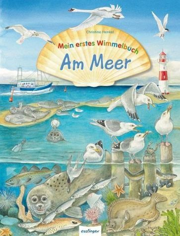 Buch mit Papp-Einband »Mein erstes Wimmelbuch - Am Meer«