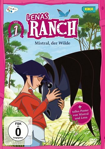 DVD »Lenas Ranch, Vol. 1 - Mistral, der Wilde«