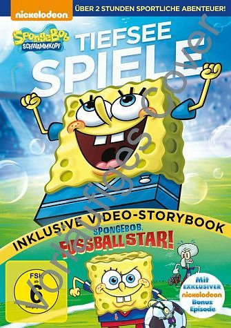 DVD »SpongeBob Schwammkopf - Tiefsee-Spiele«