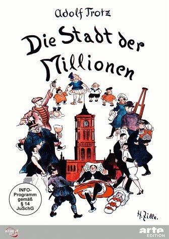 DVD »Die Stadt der Millionen. Ein Lebensbild Berlins«