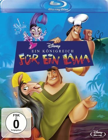 Blu-ray »Ein Königreich für ein Lama«