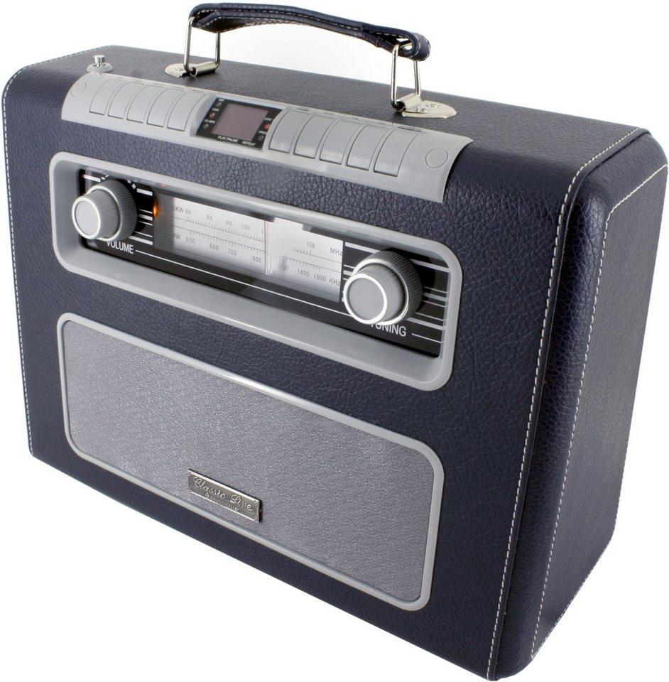 soundmaster CD-Radio tragbar »RCD1500DBL« in Dunkelblau