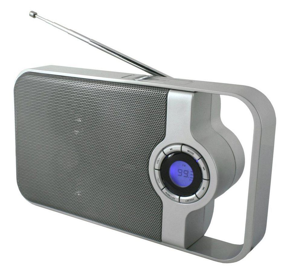 soundmaster Transistorenradio »TR100« in Silber