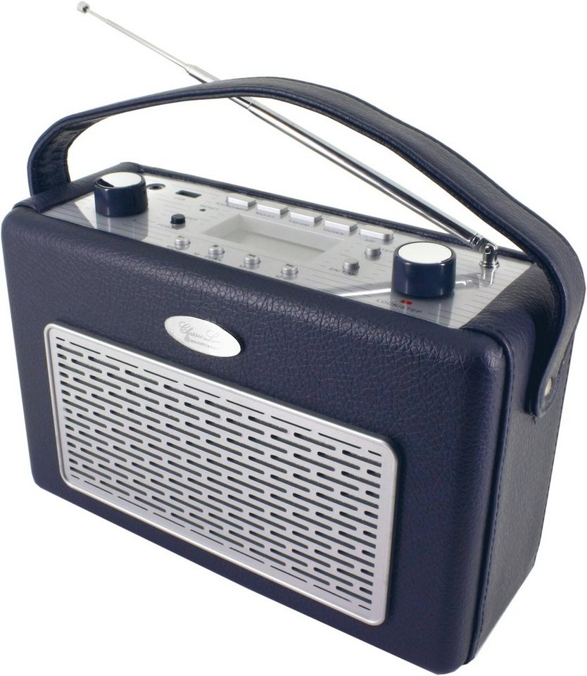 soundmaster Transistorenradio »TR50DBL« in Dunkelblau