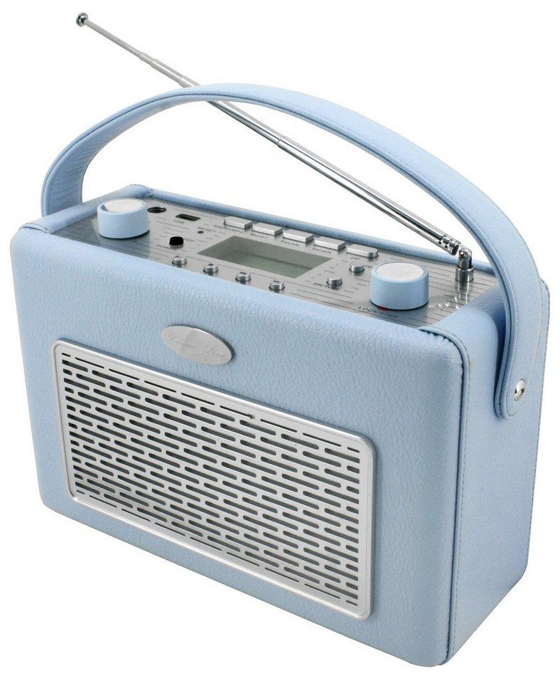 soundmaster Transistorenradio »TR50HBL« in Hellblau