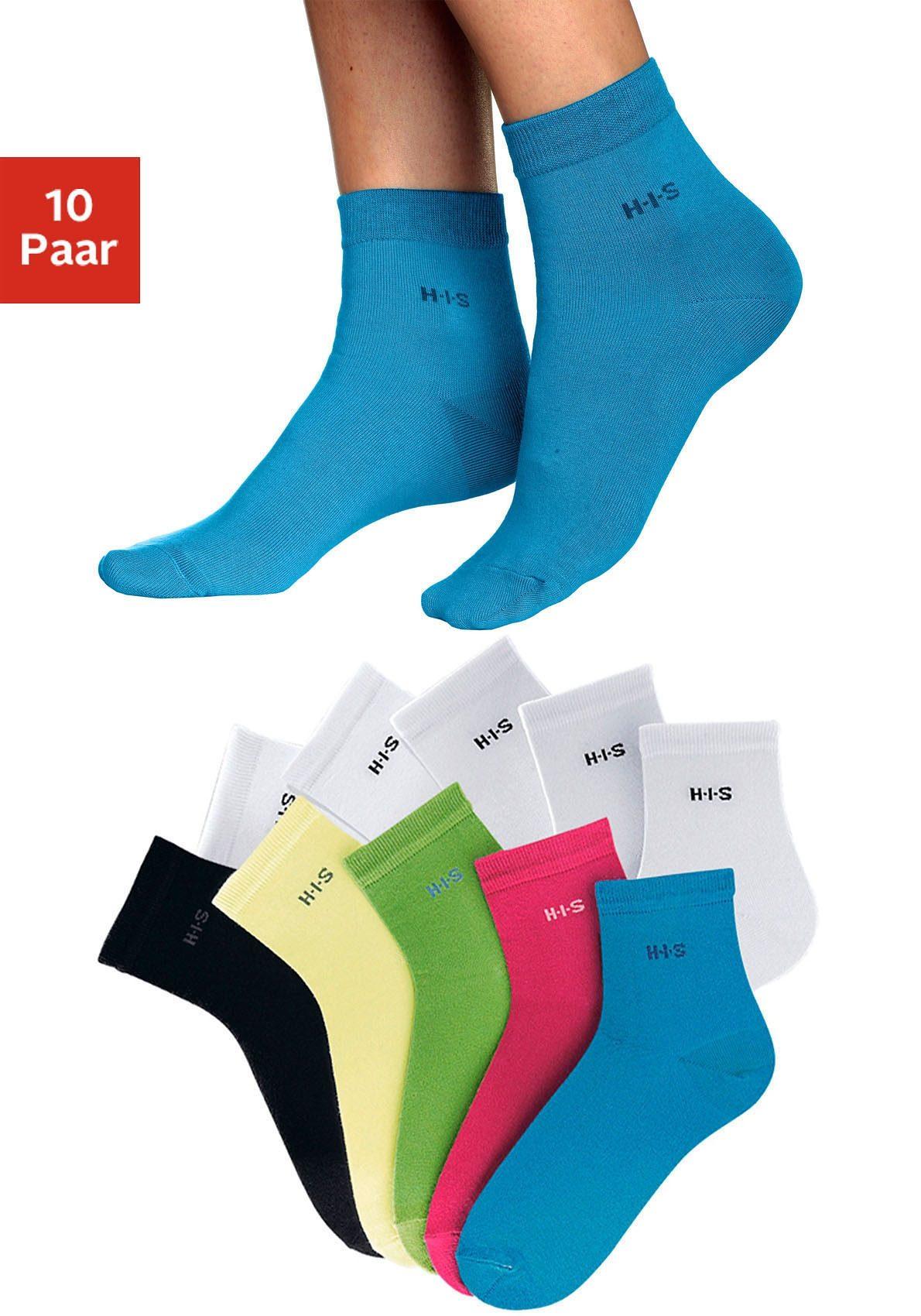 10 Paar Damen Ultra-Dünne Socken Elastisch Atmungsaktive Kurz Socken Sommer 10er