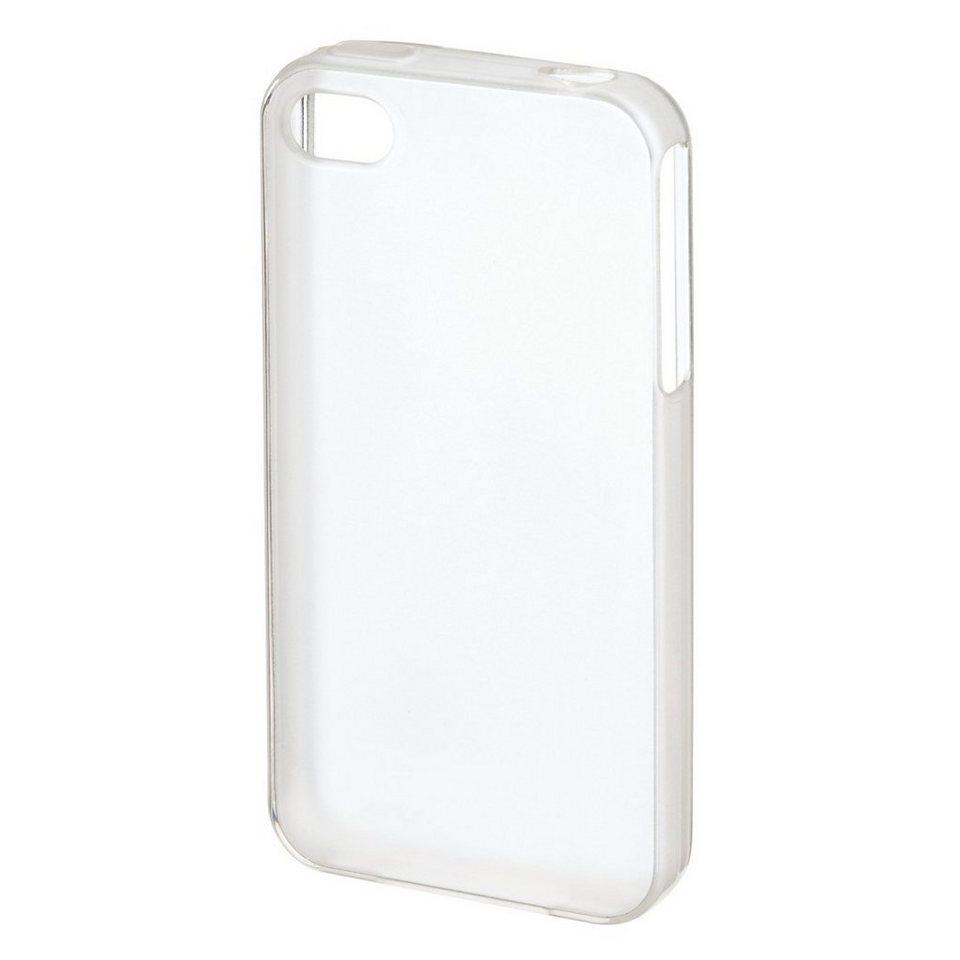 Hama Cover Crystal für Apple iPhone 4/4s, Transparent in Transparent