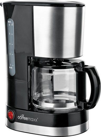 Coffee Maxx Filterkaffeemaschine Single, 0,6l Kaffeekanne