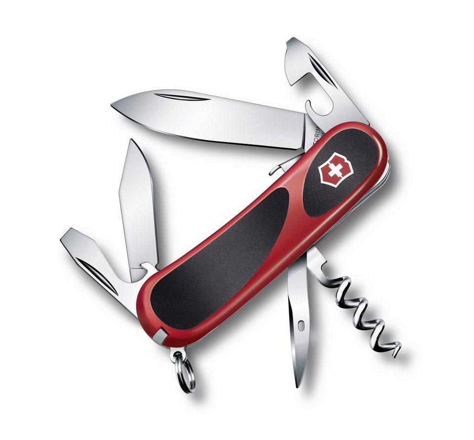Victorinox Taschenmesser »Evo Grip S 101« in Rot, Schwarz