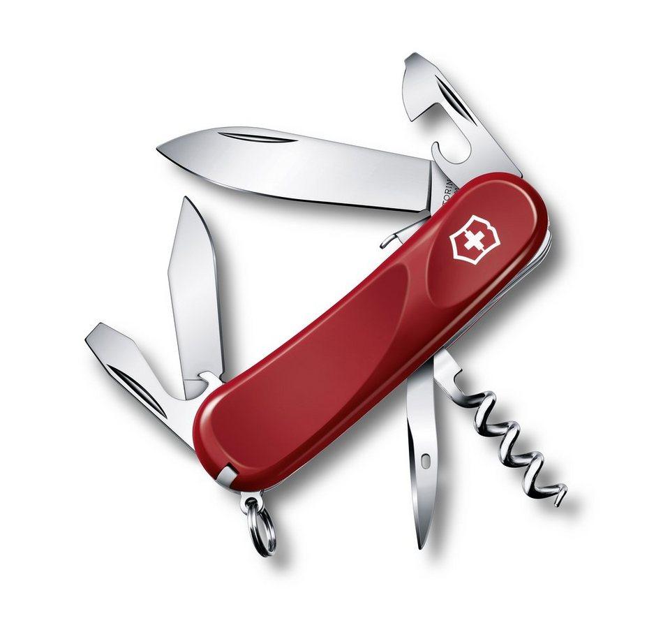 Victorinox Taschenmesser »Evolution S 101« in Rot, Schwarz