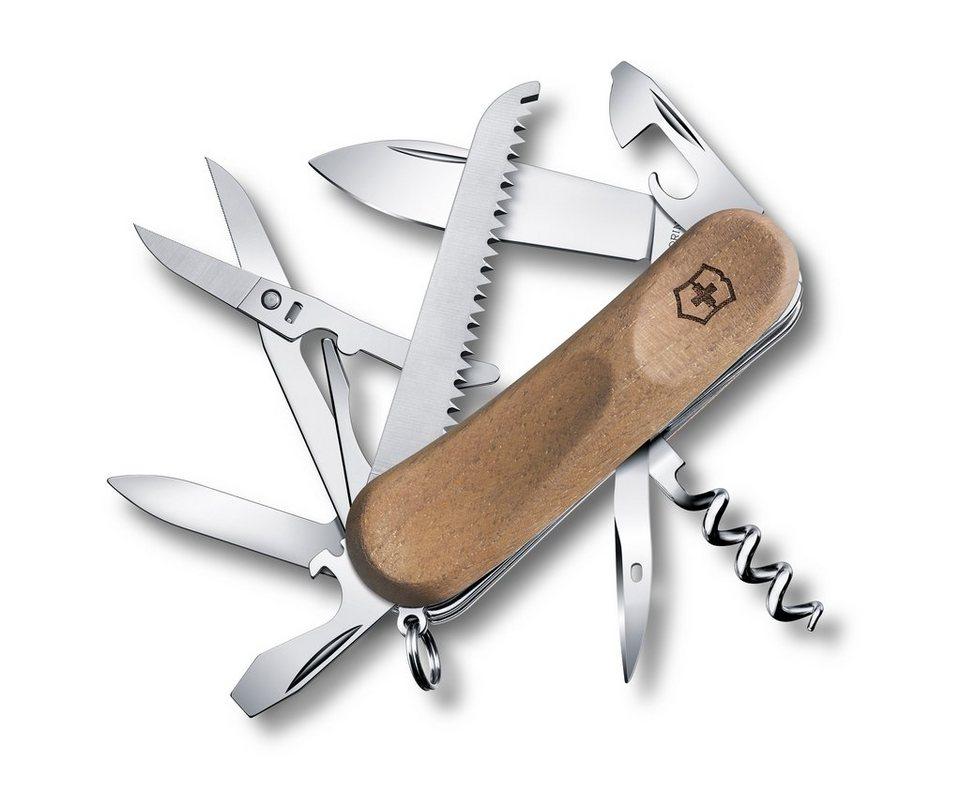 Victorinox Taschenmesser »Evo Wood 17« in Braun