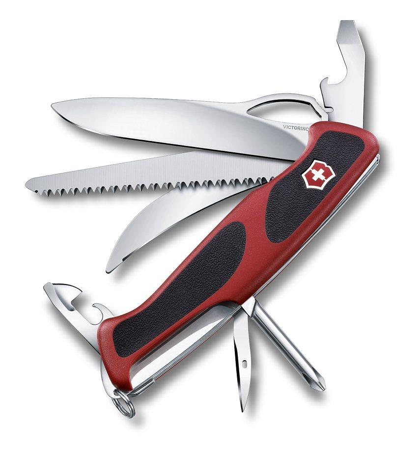 Victorinox Taschenmesser »Ranger Grip 58 Hunter« in Rot, Schwarz