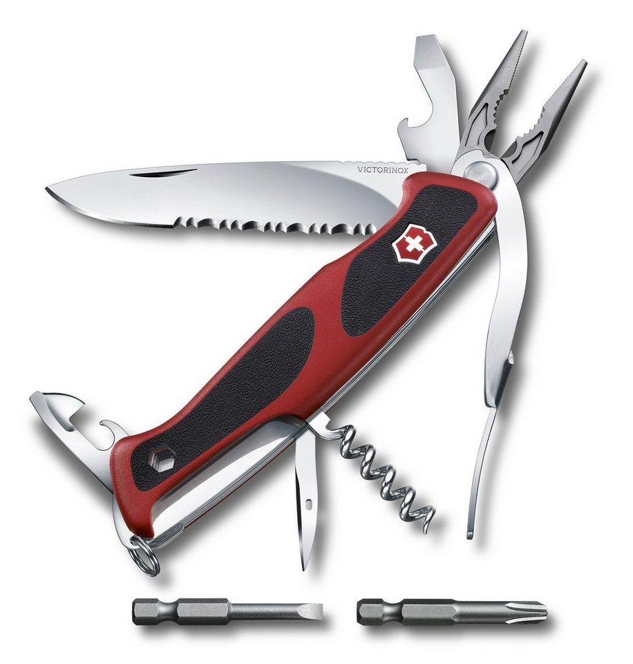 Victorinox Taschenmesser »Ranger Grip 174 Handyman« in Rot, Schwarz