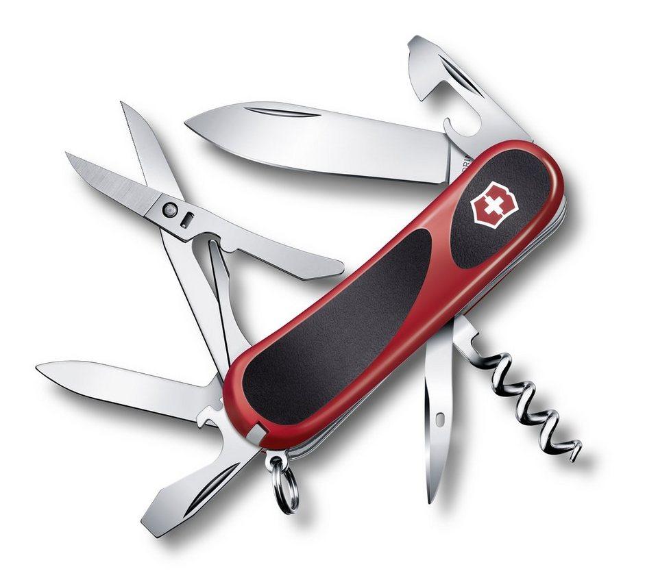 Victorinox Taschenmesser »Evo Grip 14« in Rot, Schwarz