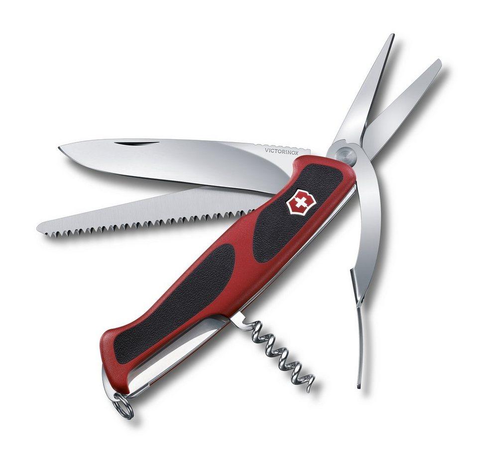 Victorinox Taschenmesser »Ranger Grip 71 Gardener« in Rot, Schwarz