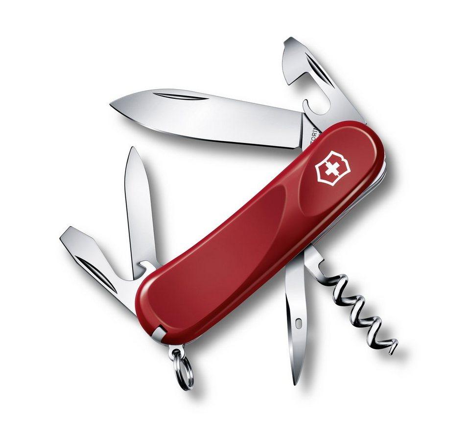 Victorinox Taschenmesser »Evolution 10« in Rot