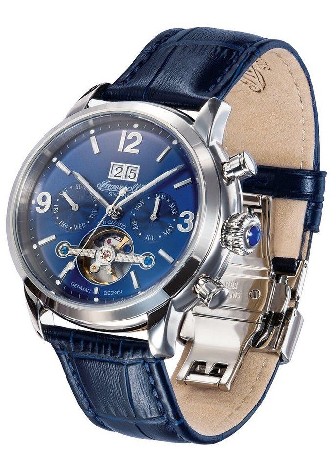 """Ingersoll, Automatikuhr, """"Belle Star, IN1826BL"""" in blau"""