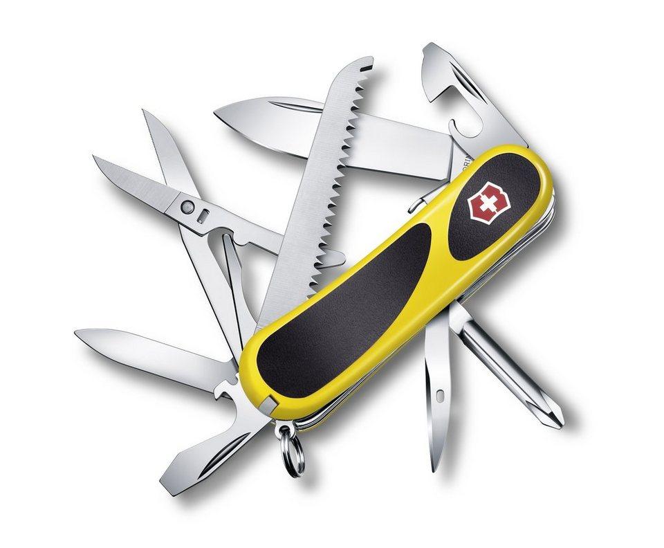 Victorinox Taschenmesser »Evo Grip S 18« in Gelb, Schwarz