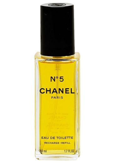 CHANEL Eau de Toilette »No 5«, Nachfüllung