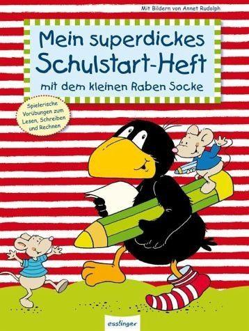 Gebundenes Buch »Der kleine Rabe Socke: Mein superdickes...«