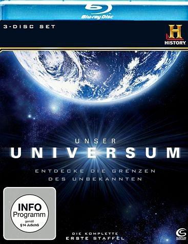 Blu-ray »History: Unser Universum (3 Discs)«