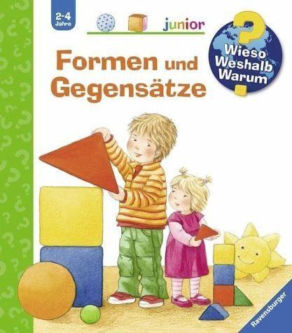 Buch mit Papp-Einband »Formen und Gegensätze / Wieso? Weshalb? Warum?...«