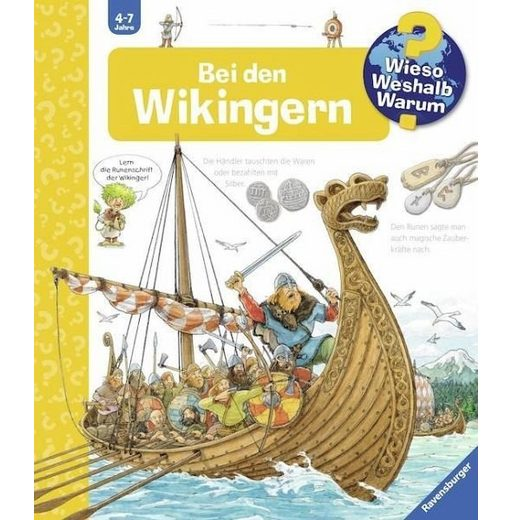 Gebundenes Buch »Bei den Wikingern / Wieso? Weshalb? Warum? Bd.48«