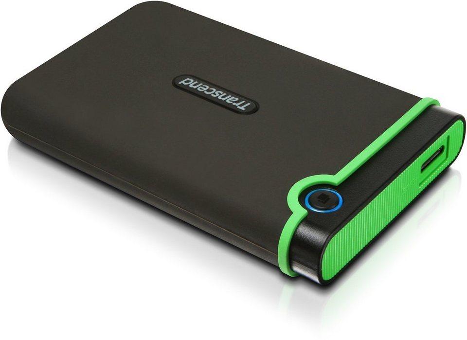 Transcend StoreJet 25M3 Anti-Shock 2TB externe Festplatte, USB 3.0