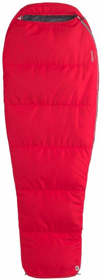Marmot Schlafsack »NanoWave 45 Sleeping Bag Regular« in rot