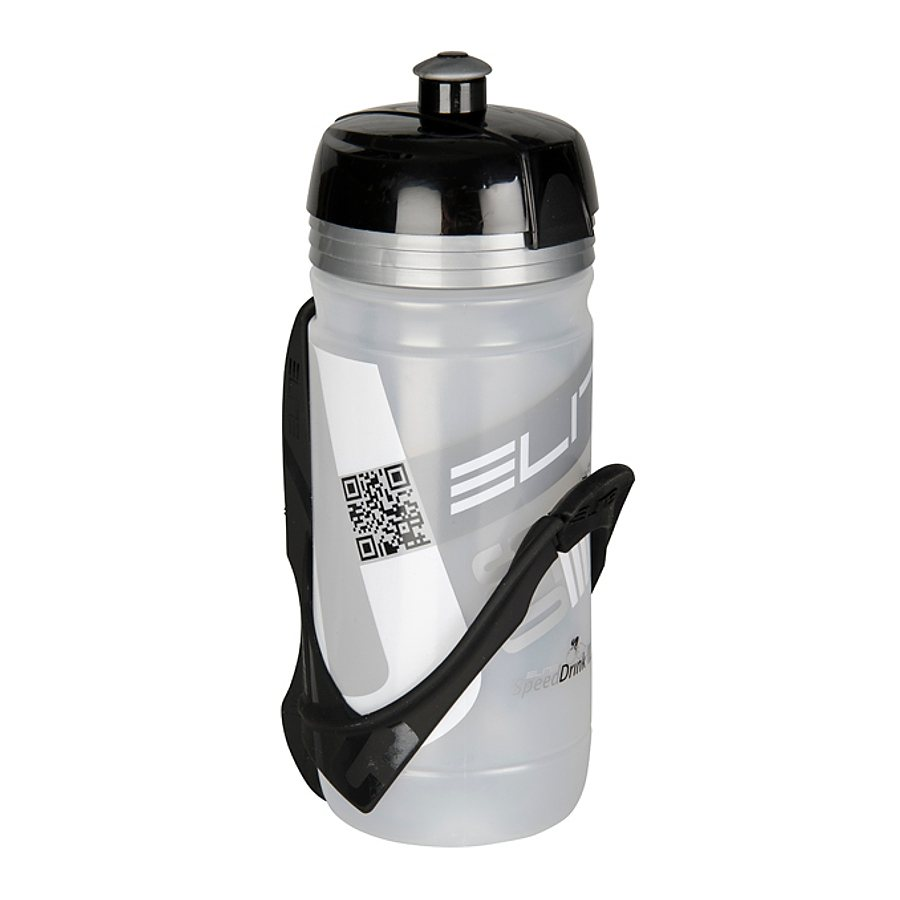 Elite Trinkflasche »Corsa Cannibal Trinkflasche & Halter 550 ml«