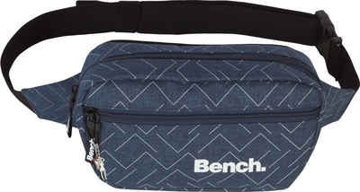 Bench. Gürteltasche »OTI300M Bench stylische Hip Bag« (Gürteltasche), Herren, Jugend Gürteltasche Polyester, blau ca. 23cm x ca. 13cm