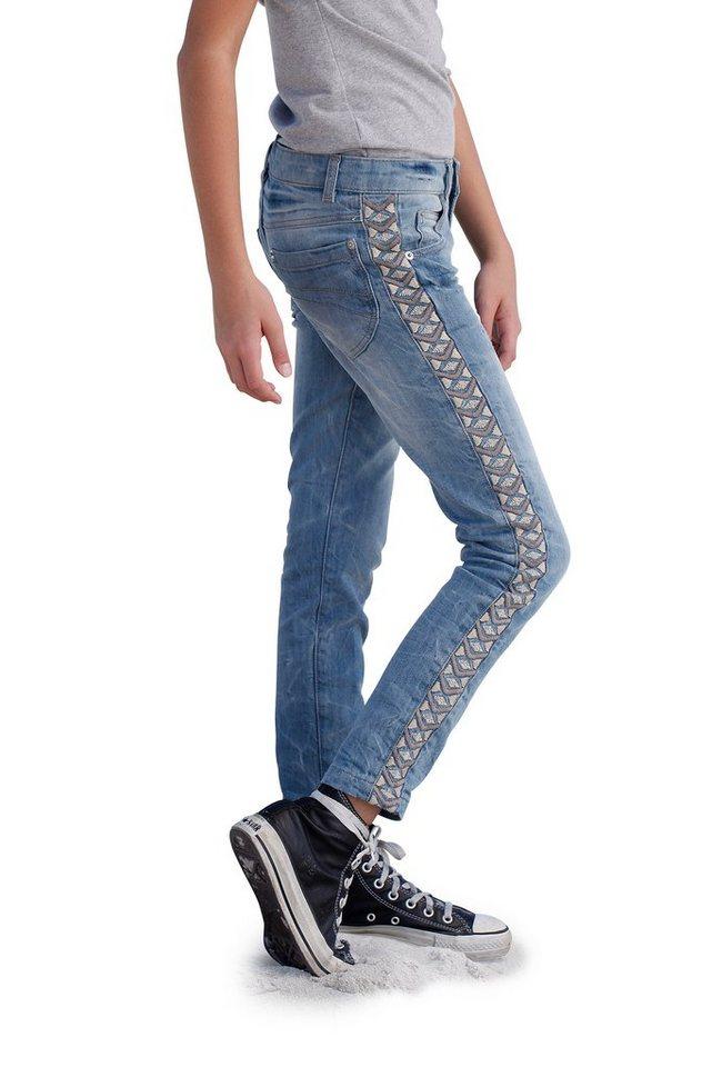 Arizona Jeans Skinny, für Mädchen in blue used