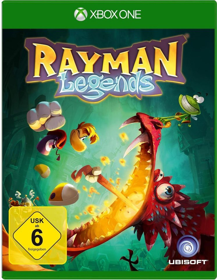 Ubisoft XBOX One - Spiel »Rayman Legends«