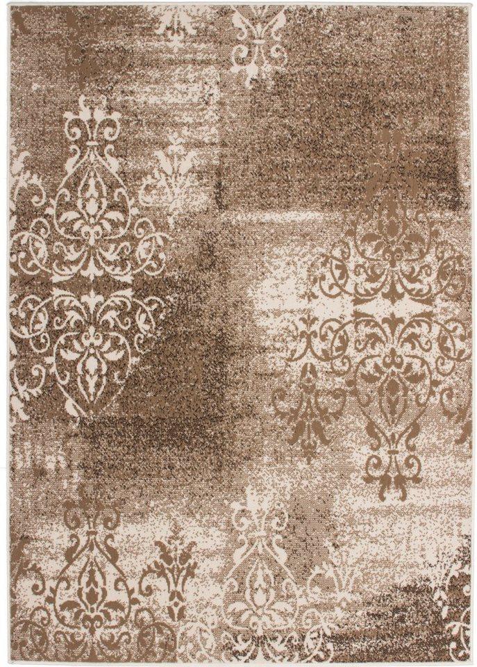 Teppich, Kayoom, »FUNKY 1424« in Karamell